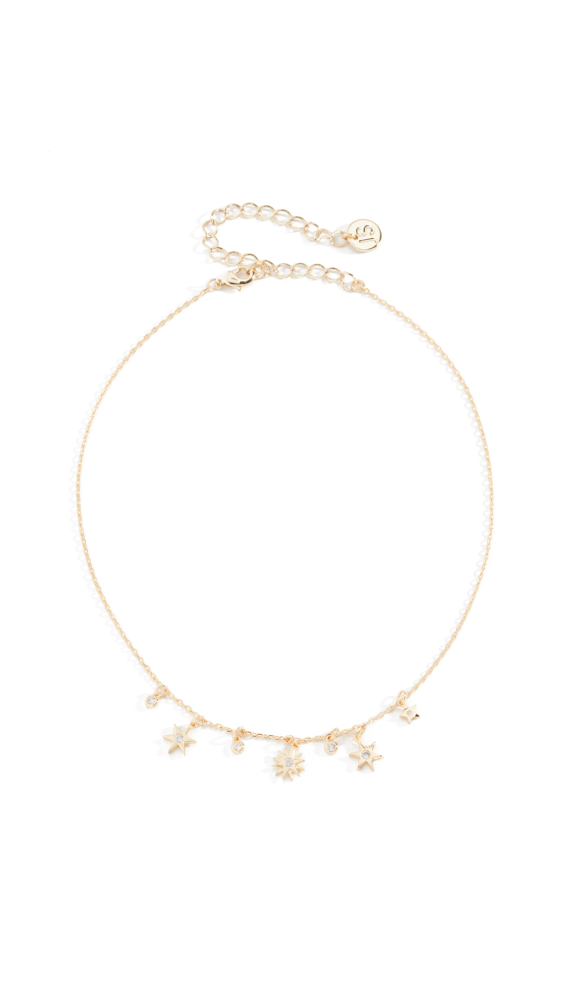 STAR BRIGHT CHOKER NECKLACE