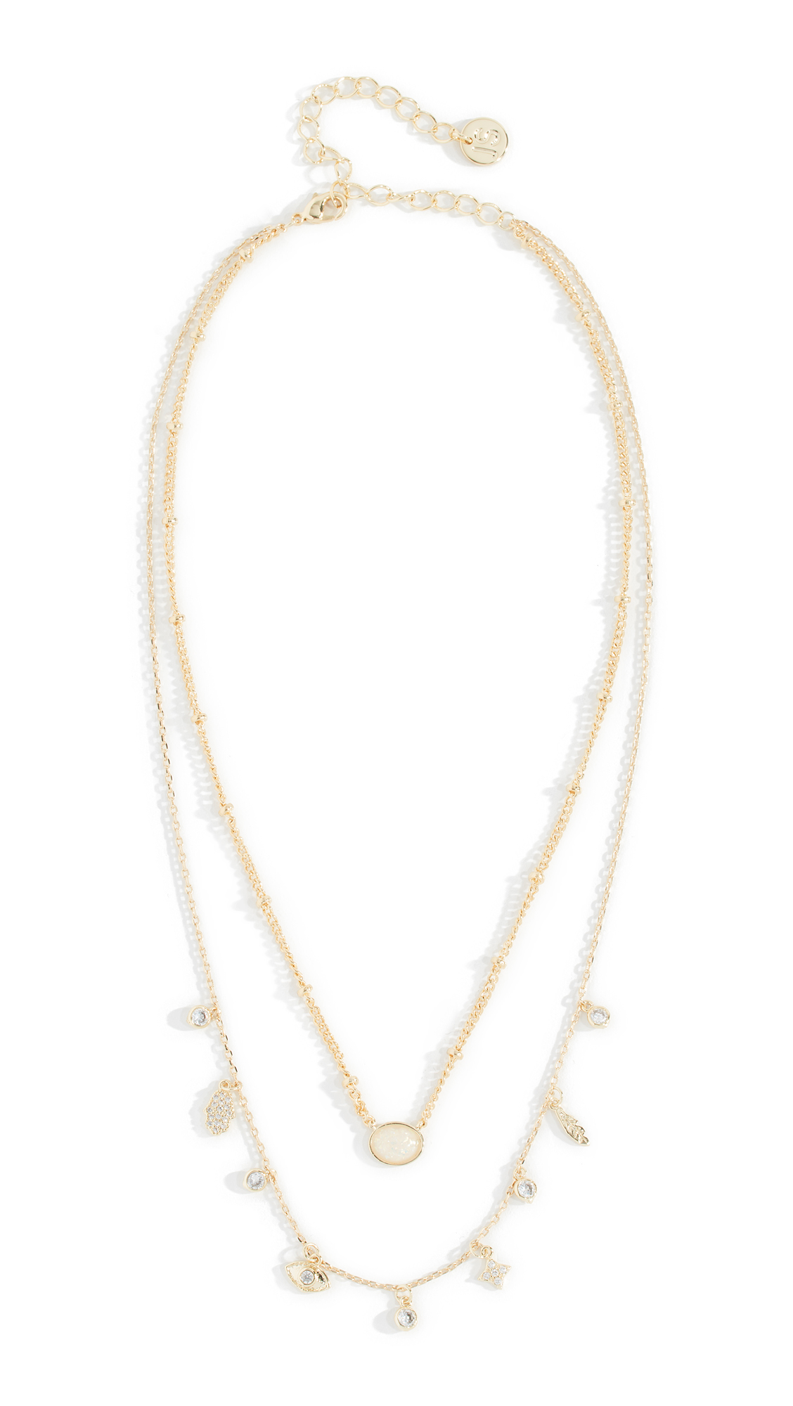 JULES SMITH Layered Necklace in Gold