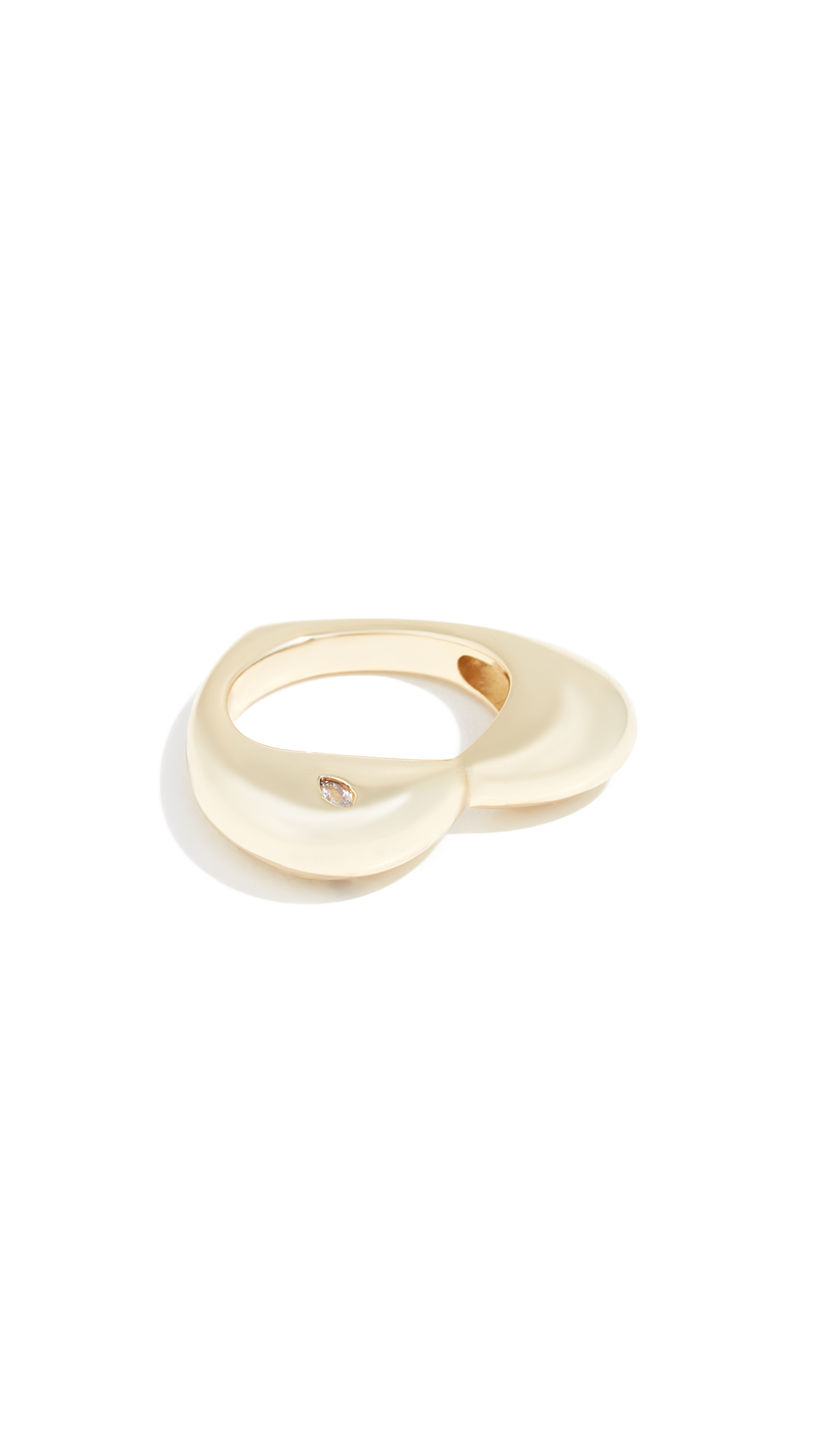 JULES SMITH Armor Ring in Gold