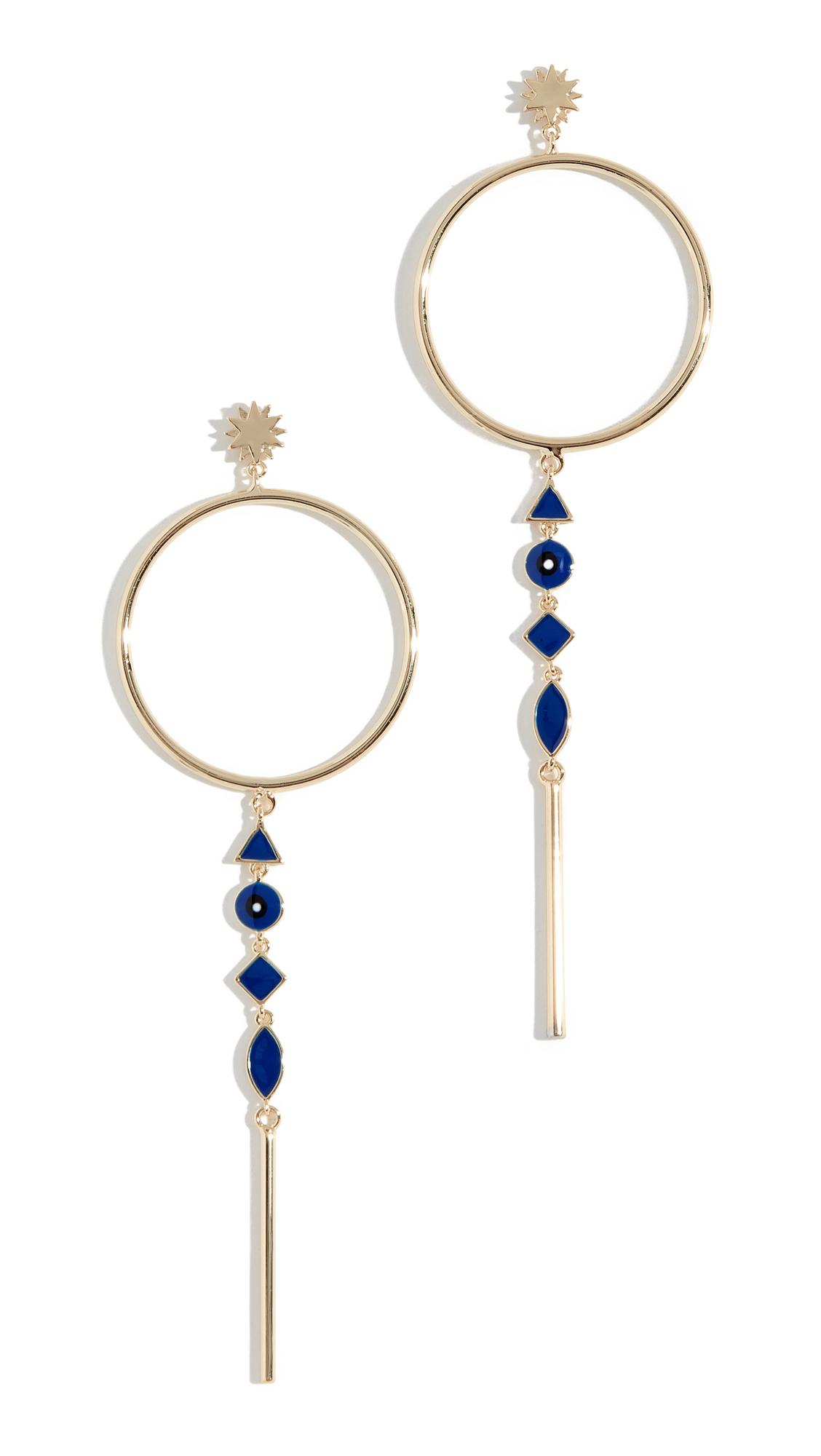 JULES SMITH Star Gazer Earrings in Gold