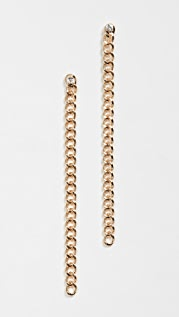 Jules Smith 锁链宝石耳环