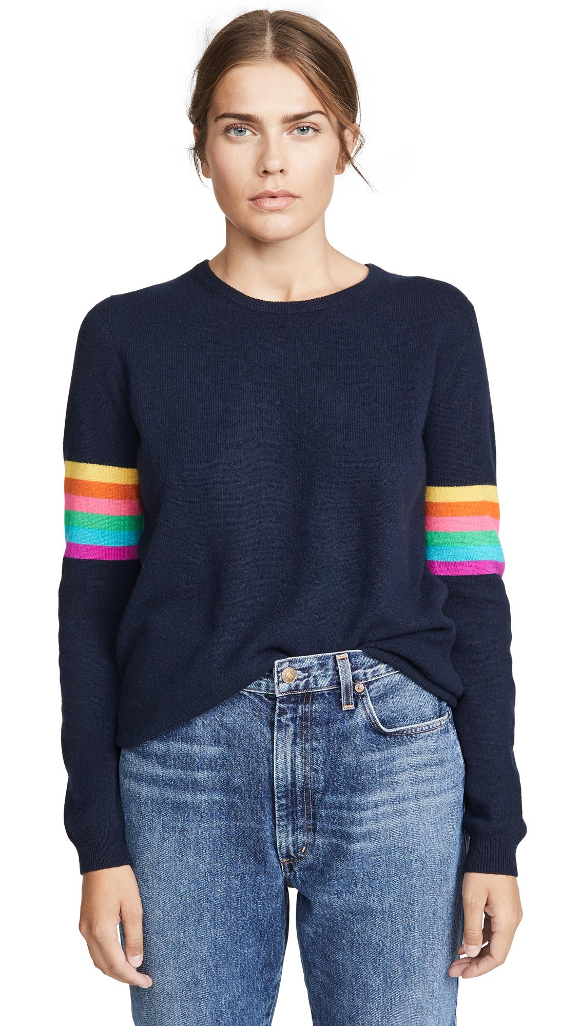 Buy Jumper online - photo of Jumper 1234 Rainbow Cashmere Crew Sweater