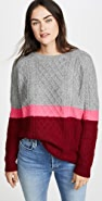 Jumper 1234 3 Color Aran Cashmere Sweater