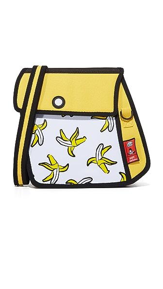 JumpFromPaper Rodnik x JumpFromPaper Banana Shoulder Bag