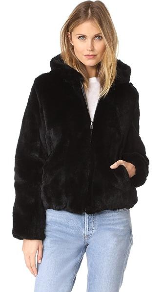 June Reversible Fur Jacket