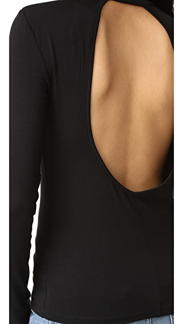 Just Female Luca Open Back Top