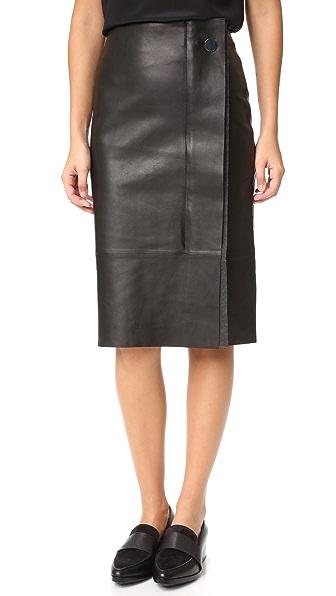 Grey Jason Wu Pencil Skirt