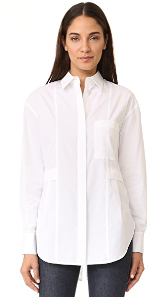 Grey Jason Wu Relaxed Shirt