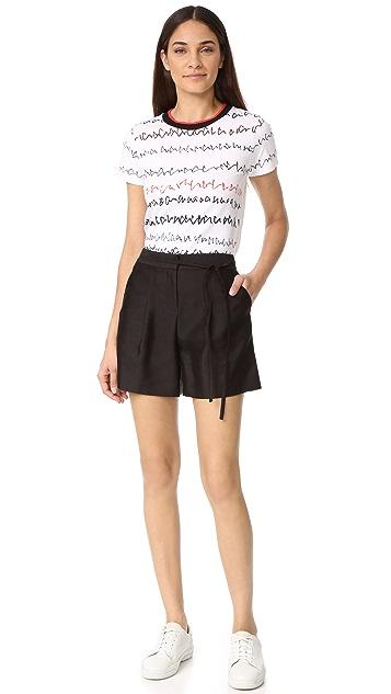 Jason Wu Grey Scribble Print T-Shirt