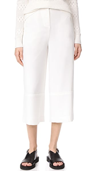 Grey Jason Wu High Waist Cullottes - Star White