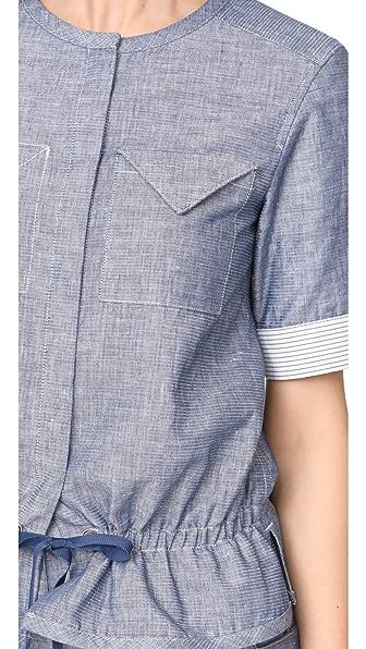 GREY JASON WU Short Sleeve Top