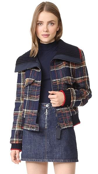 Grey Jason Wu Tweed Jacket