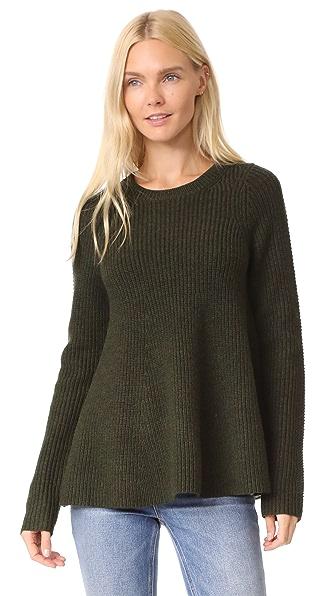 Grey Jason Wu Trapeeze Sweater