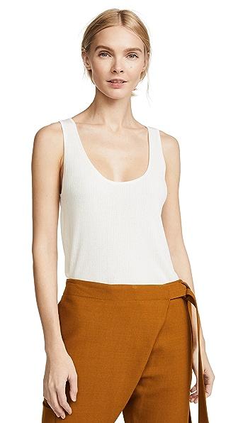 Jason Wu Grey x Diane Kruger Lightweight Empire Knit Tank In Star White