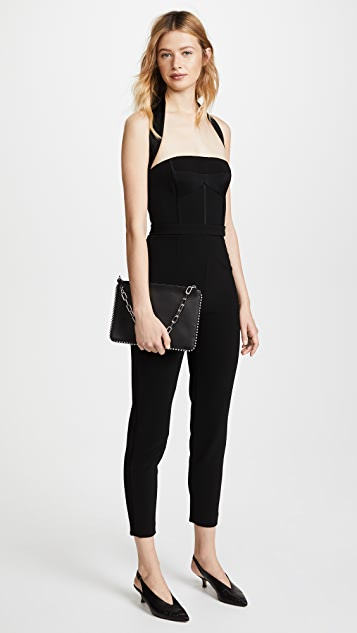 Jason Wu Grey x Diane Kruger Heavy Body Crepe Jumpsuit