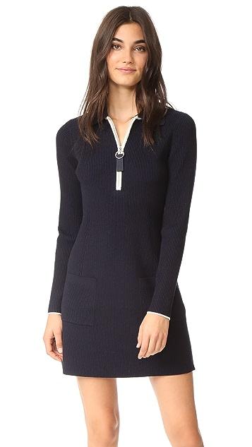Jason Wu Grey Long Sleeve Polo Dress