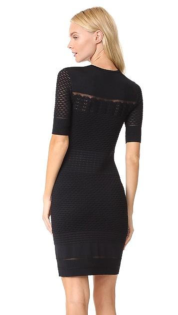 Jason Wu Grey Short Sleeve Dress