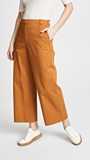 Jason Wu Stretch Twill Sailor Pants