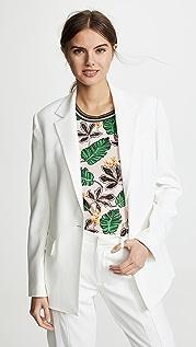 Jason Wu Satin Back Crepe Jacket