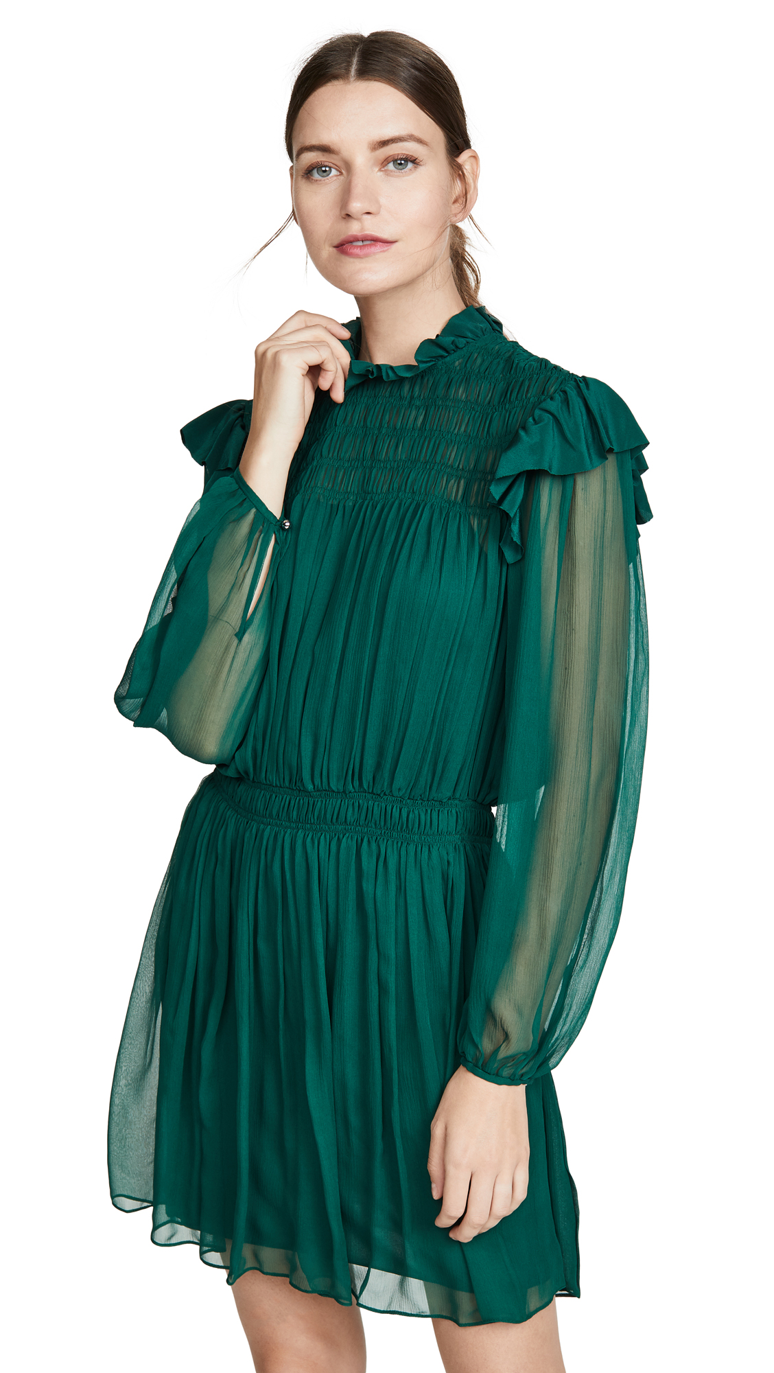 Buy Jason Wu online - photo of Jason Wu Crinkle Chiffon Dress