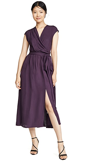 Jason Wu V Neck Wrap Dress