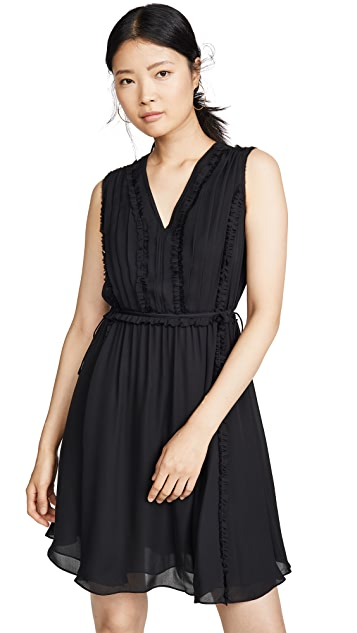 Jason Wu Silk V Neck Dress