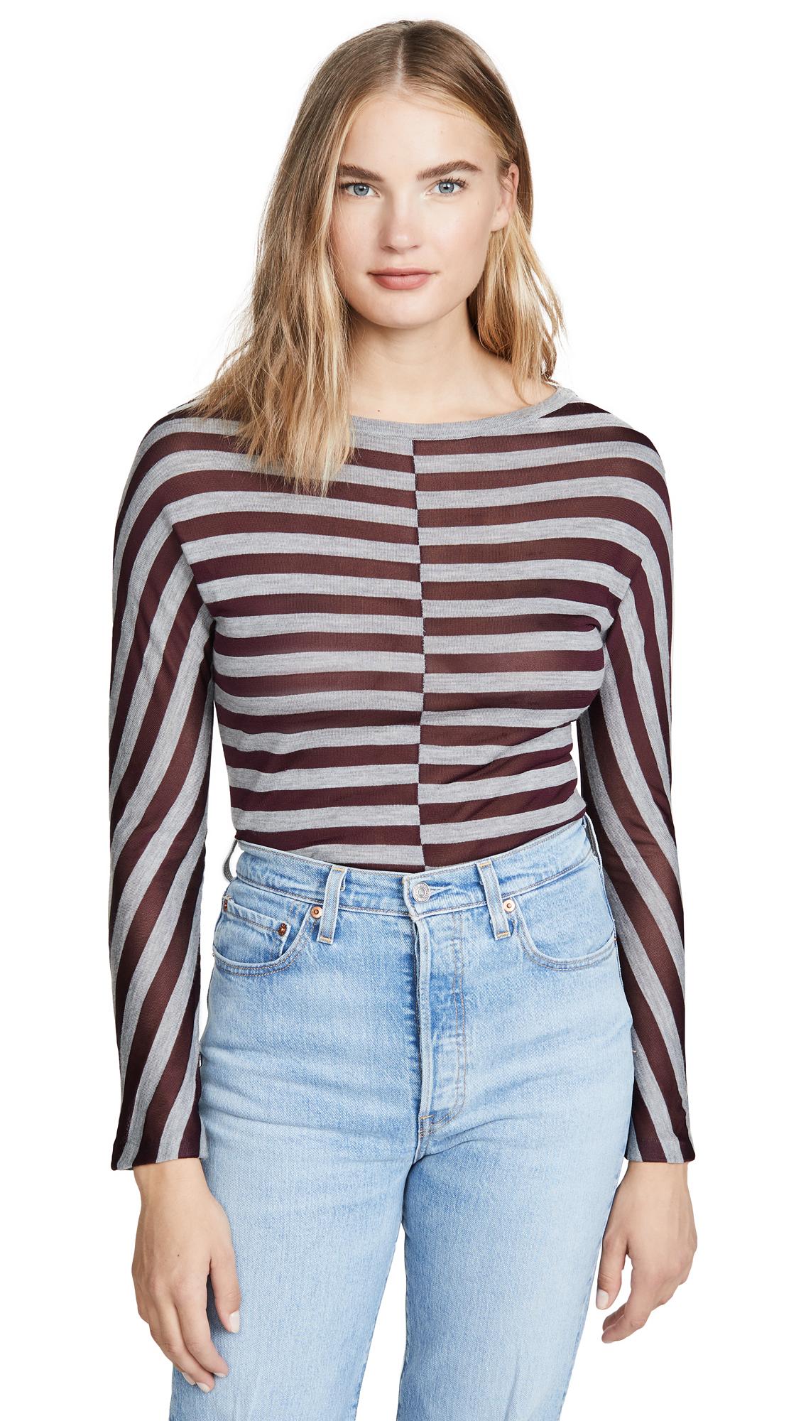 Buy Jason Wu online - photo of Jason Wu Wool Striped Sweater