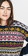 Jason Wu Merino Wool Fair Isle Sweater