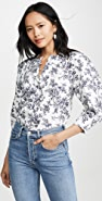 Jason Wu 印花棉质女式衬衫