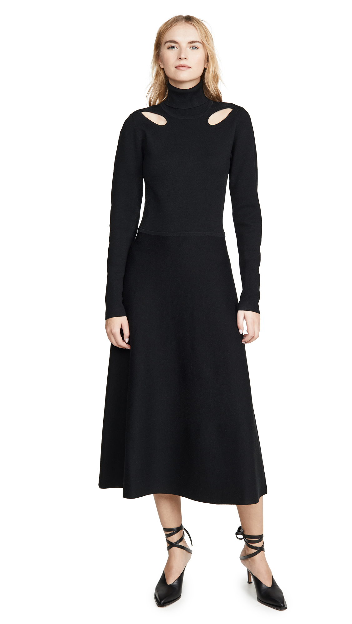 Jason Wu Merino Knit Cutout Dress - 60% Off Sale