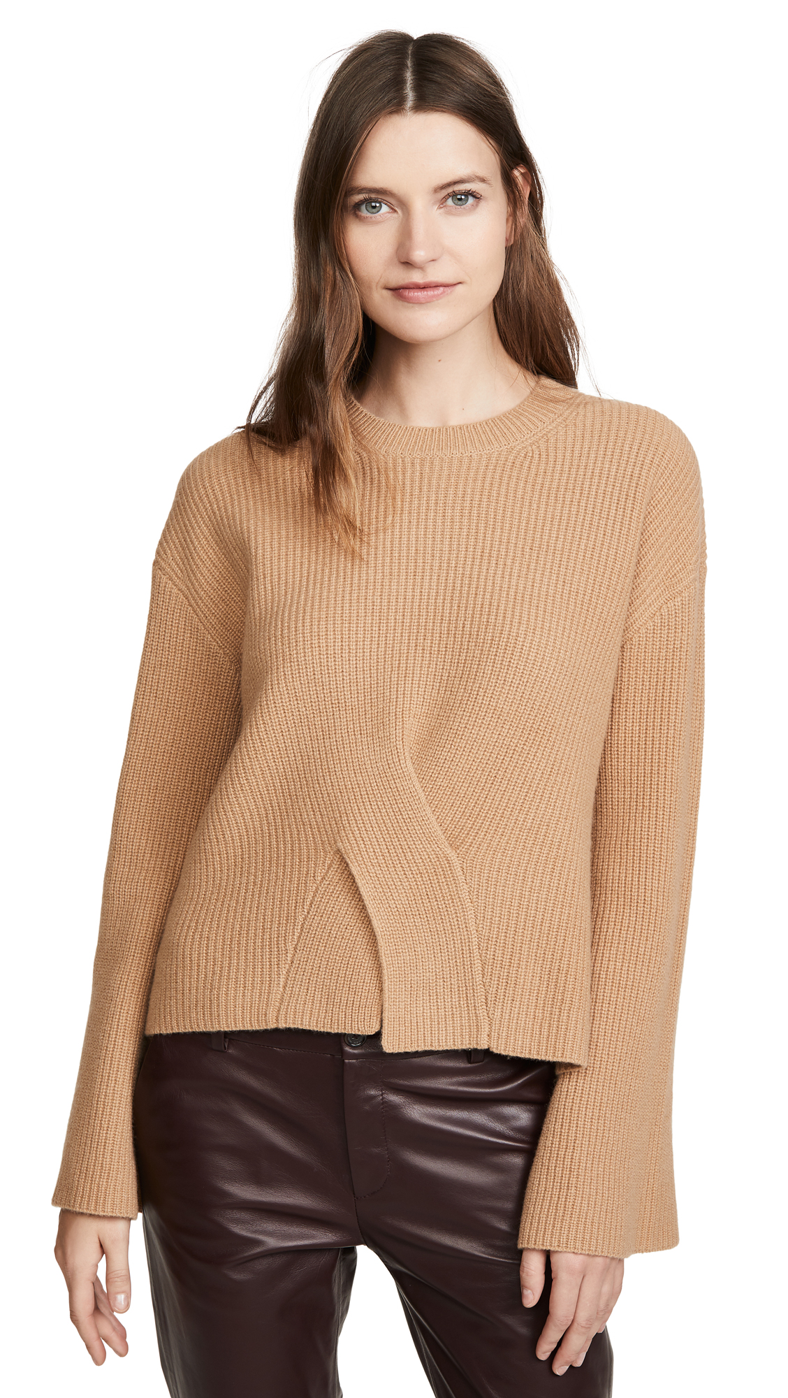 Buy Jason Wu online - photo of Jason Wu Cashmere Crew Neck with Twisted Front