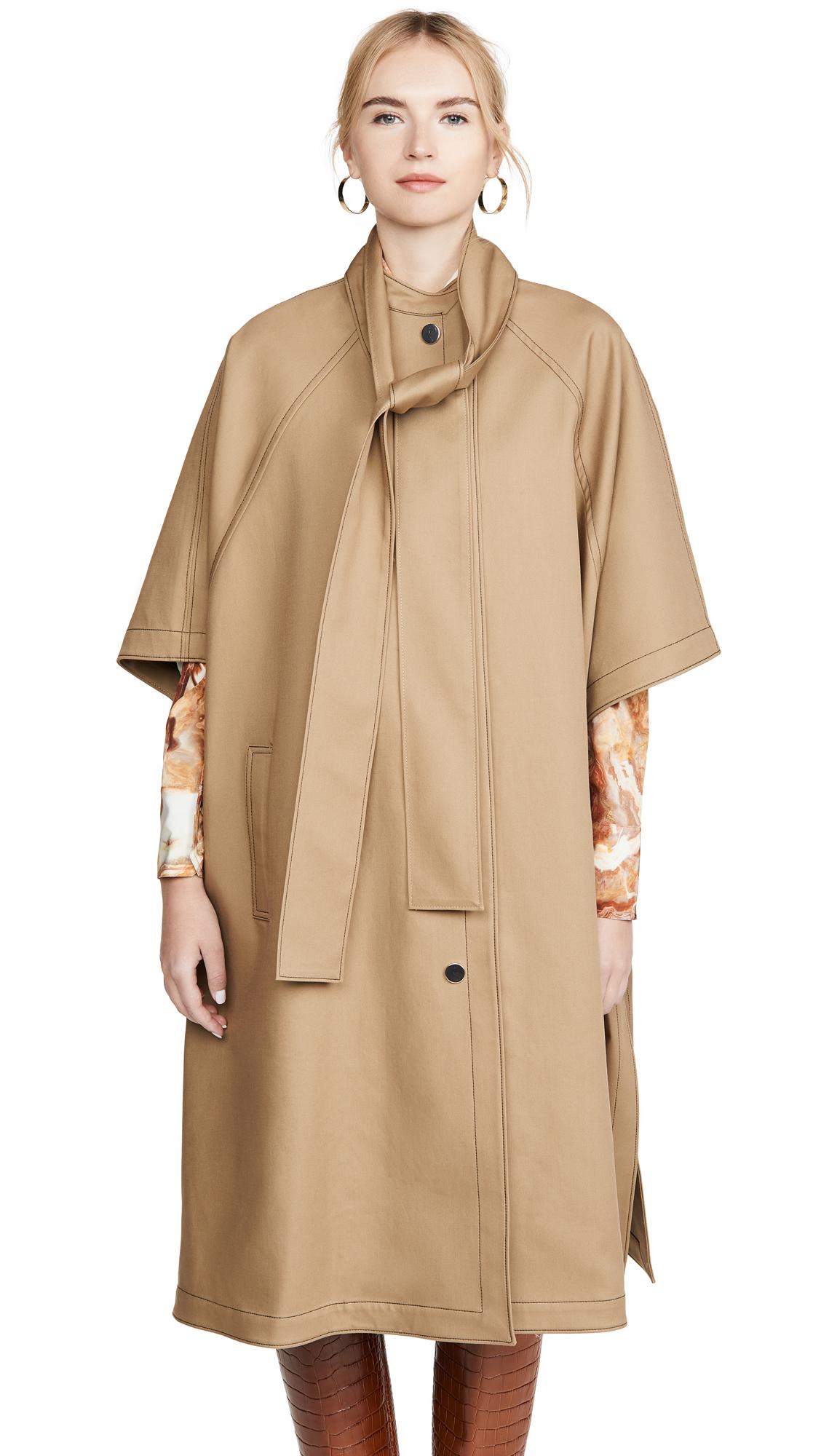 Buy Jason Wu Cotton Poncho Rain Coat online beautiful Jason Wu Jackets, Coats, Trench Coats