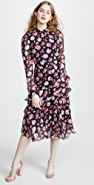 Jason Wu Printed Asymmetrical Dress