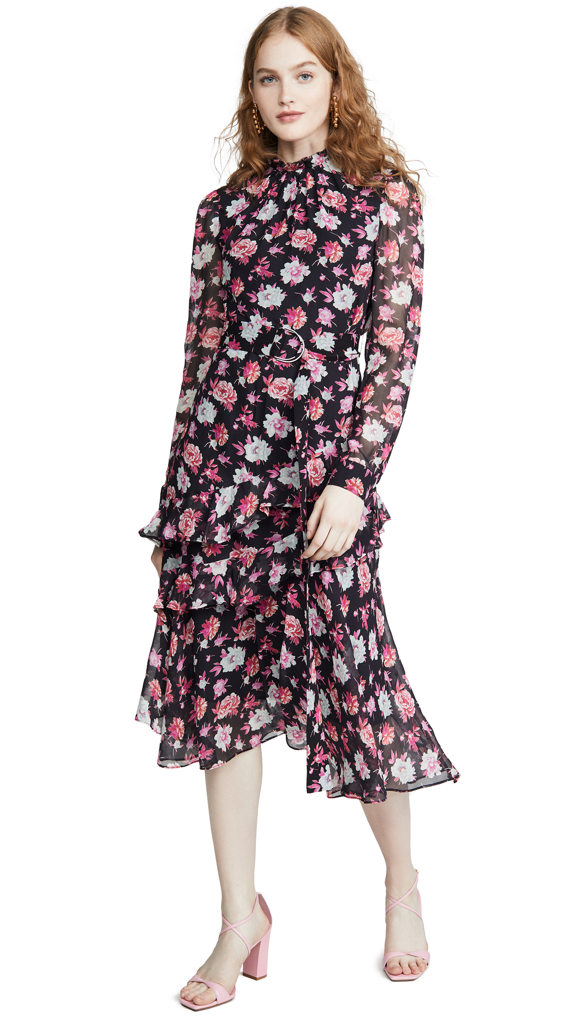 Buy Jason Wu online - photo of Jason Wu Printed Asymmetrical Dress
