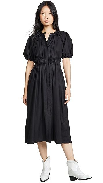 Jason Wu Stretch Cotton Poplin Dress