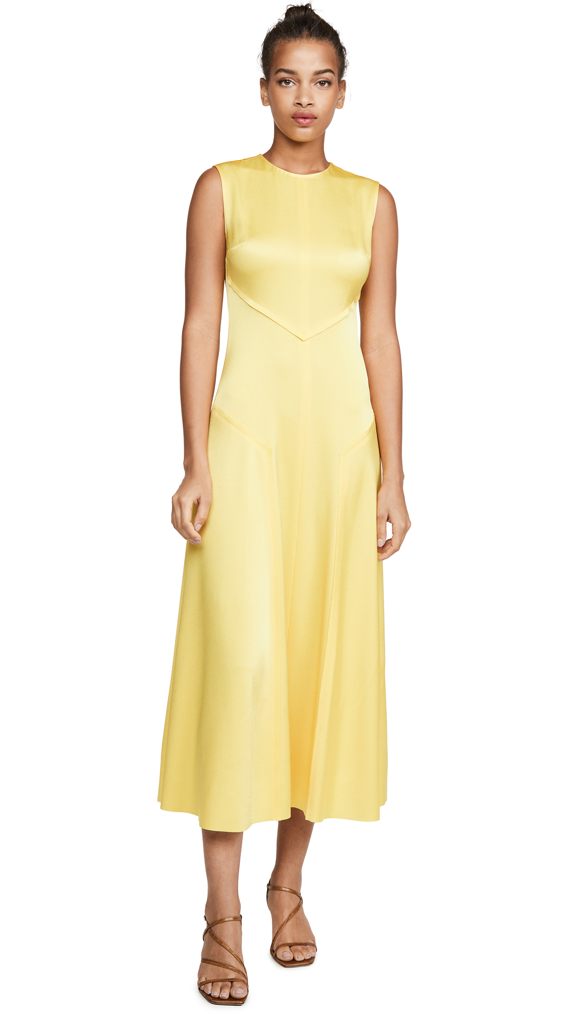 Jason Wu Sleeveless Crew Neck Dress - 40% Off Sale