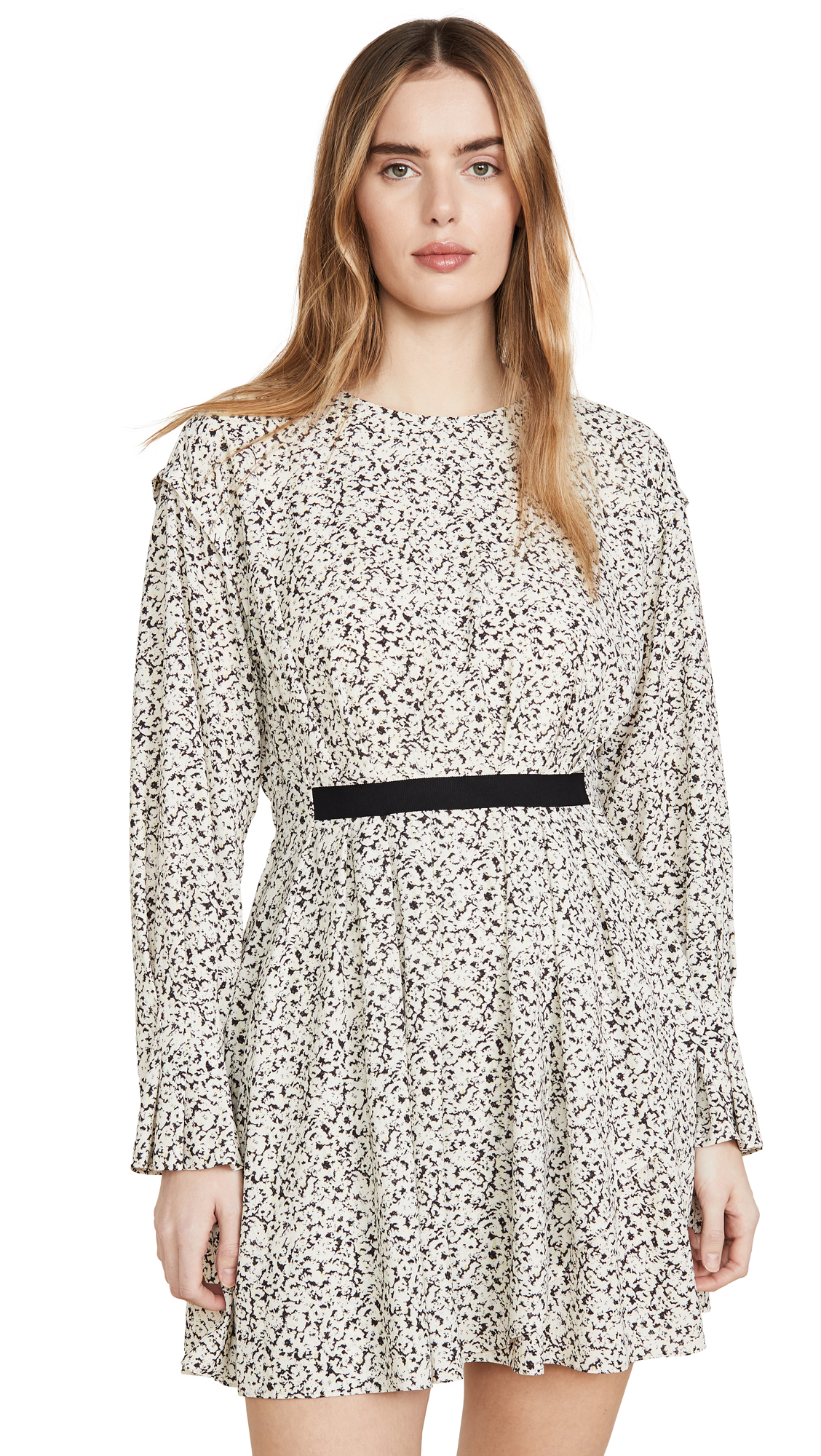 Jason Wu Inverse Floral Long Sleeve Dress - 50% Off Sale
