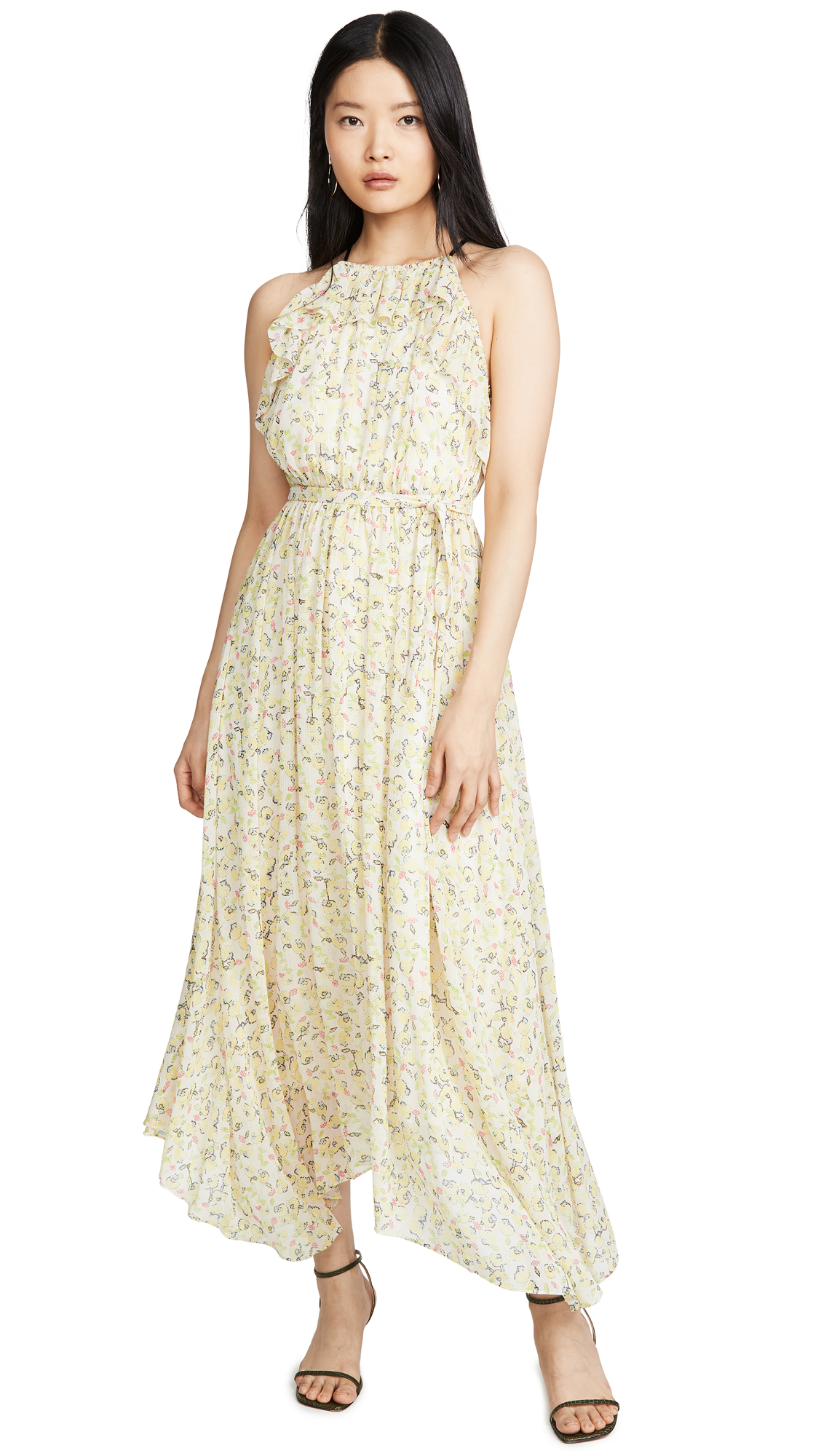 Jason Wu Floral Maxi Dress - 50% Off Sale