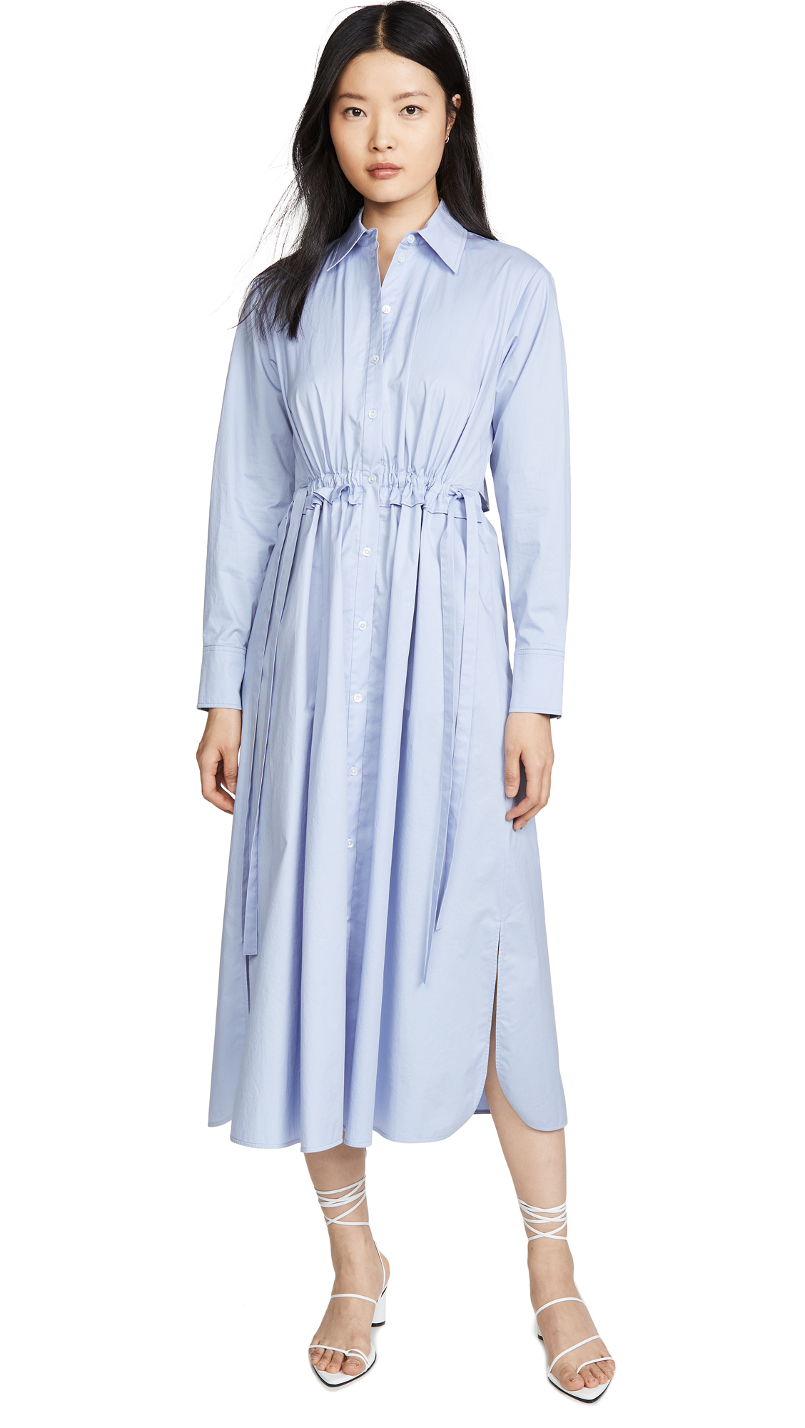 Jason Wu Open Back Poplin Shirt Dress - 30% Off Sale