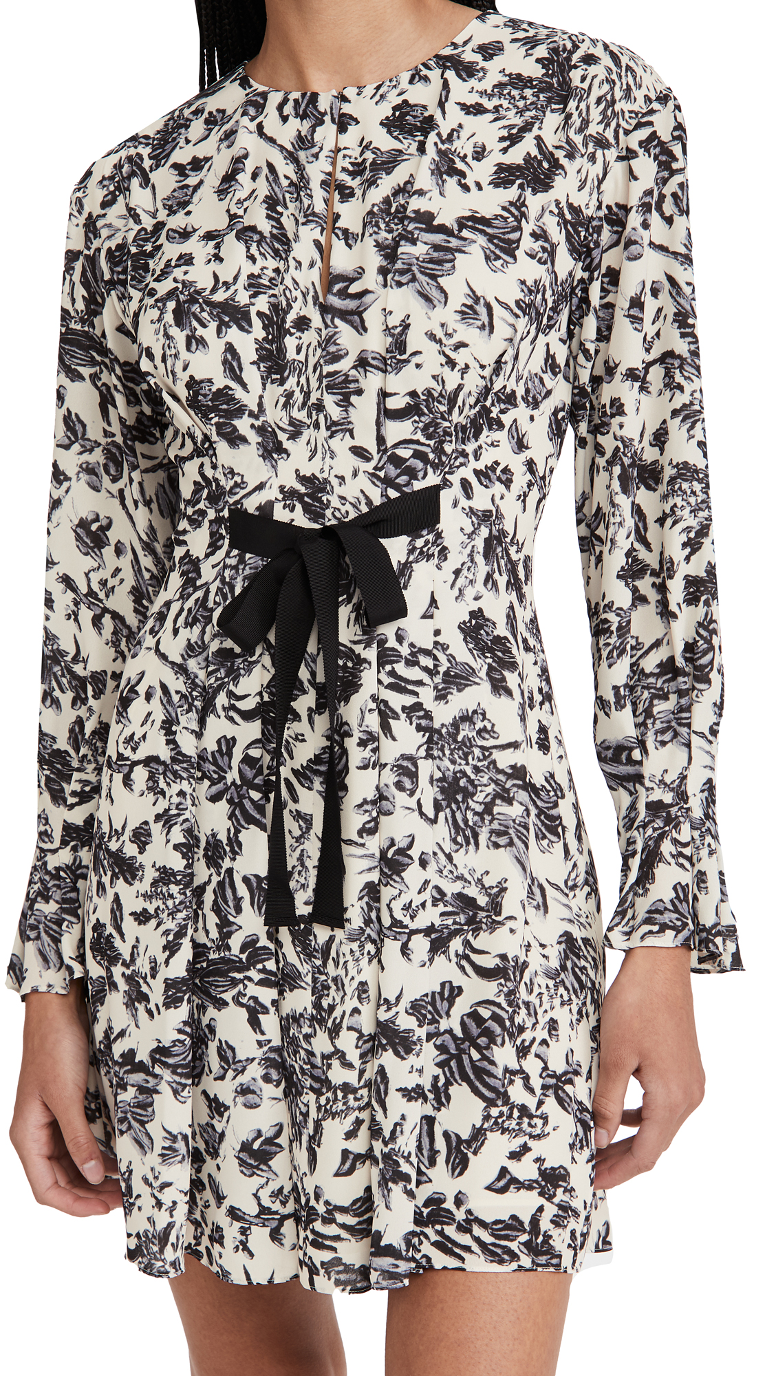 Jason Wu TUCK SLEEVE DRESS