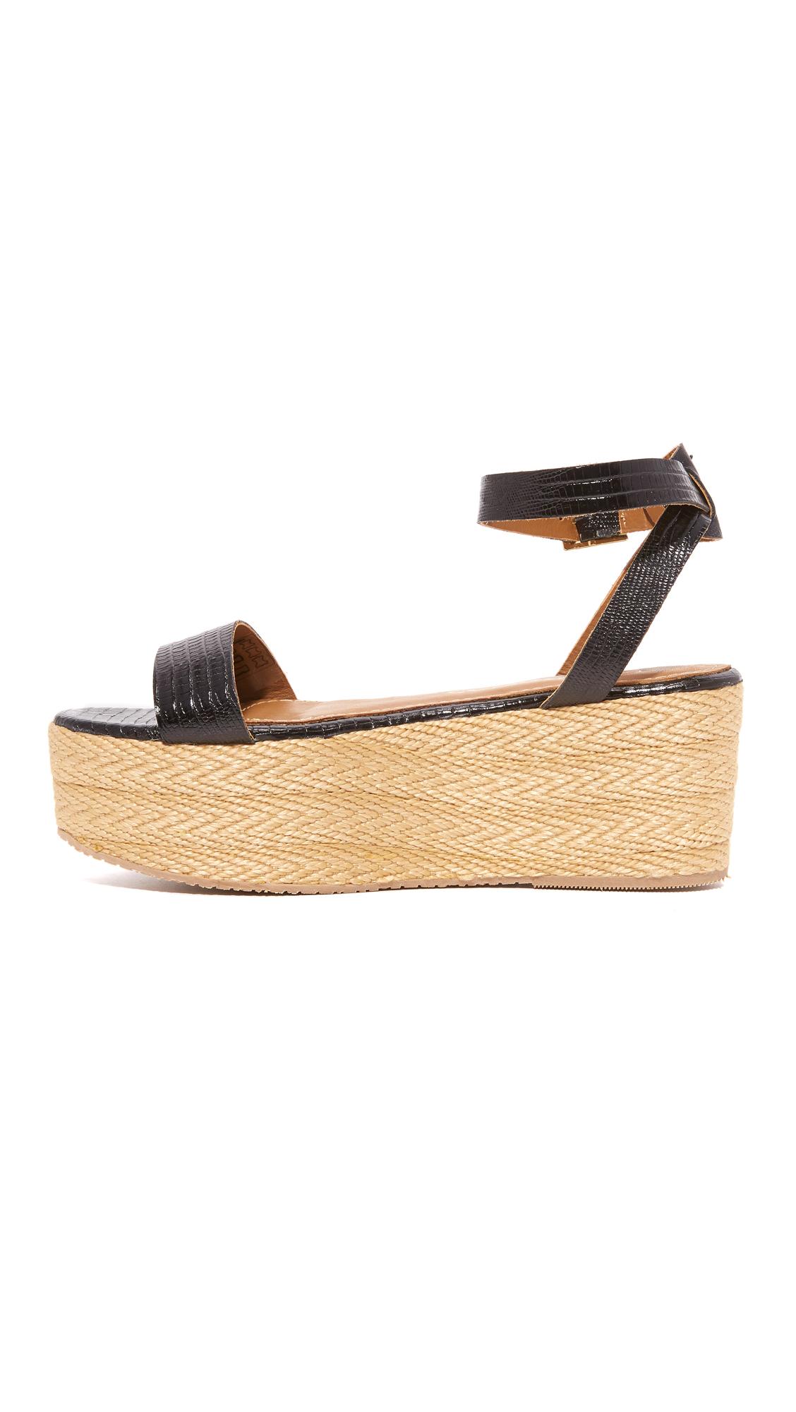 b944a75eecc KAANAS Seshat Platform Espadrille Sandals