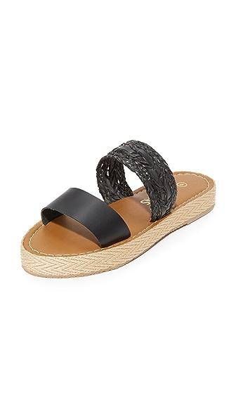 KAANAS Hathor Platform Slides - Black
