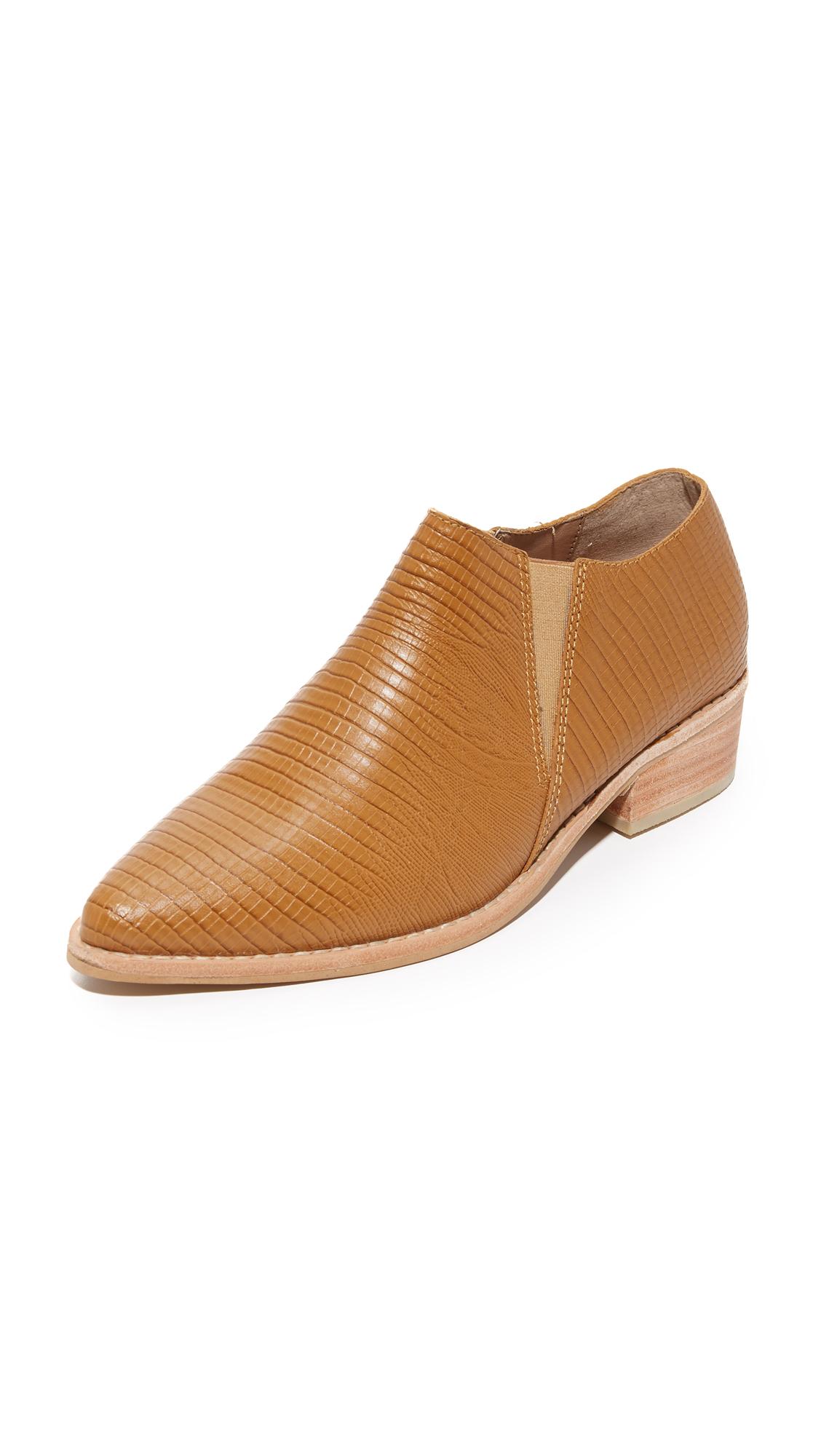 Kaanas Sobek Ankle Booties - Cinnamon