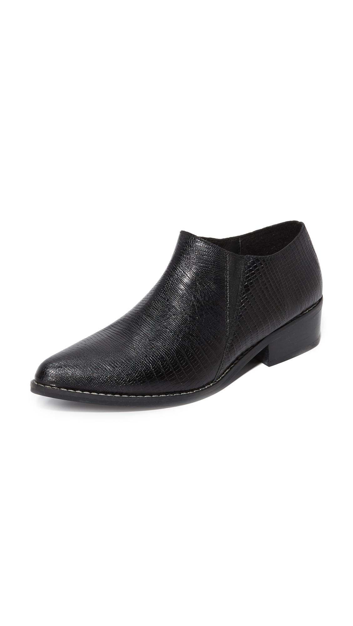 Kaanas Sobek Ankle Booties - Black