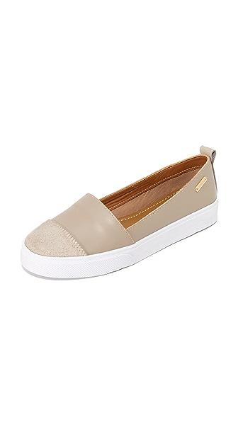 KAANAS Patagonia Slip On Sneakers - Clay