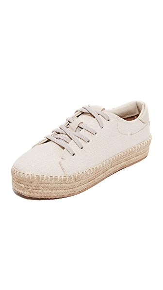 KAANAS Nogales Espadrille Sneakers - Cream
