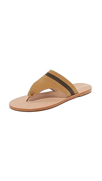 KAANAS Rio Thong Sandals - Camel
