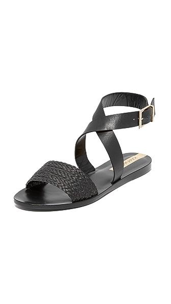 KAANAS Fortaleza Braided Sandals - Black