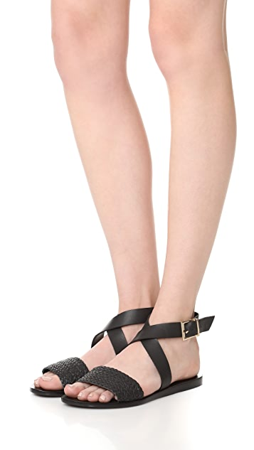 KAANAS Fortaleza Braided Sandals