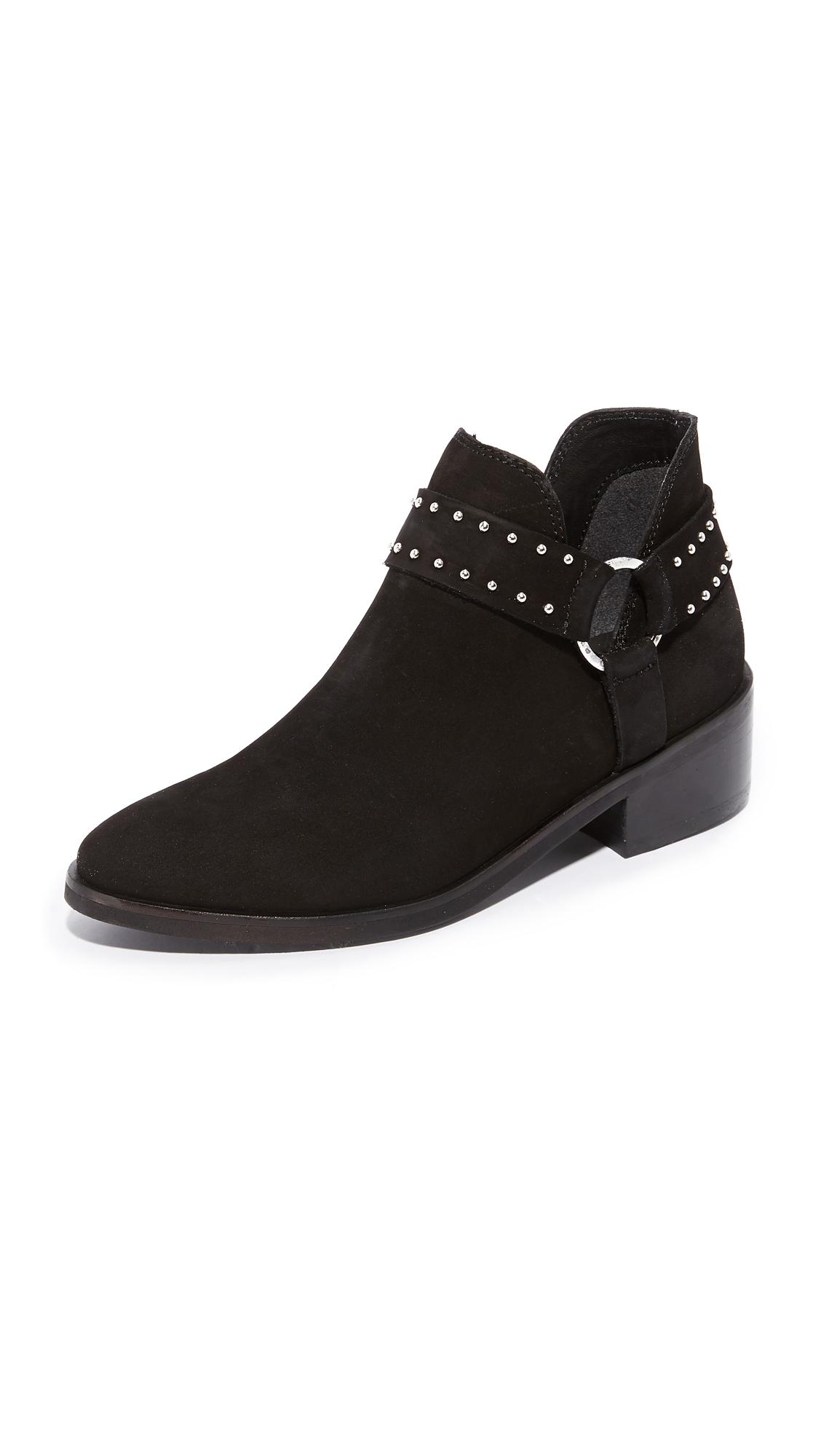 KAANAS Leon Western Booties - Black